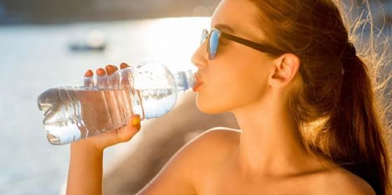 Caldo: bere molto