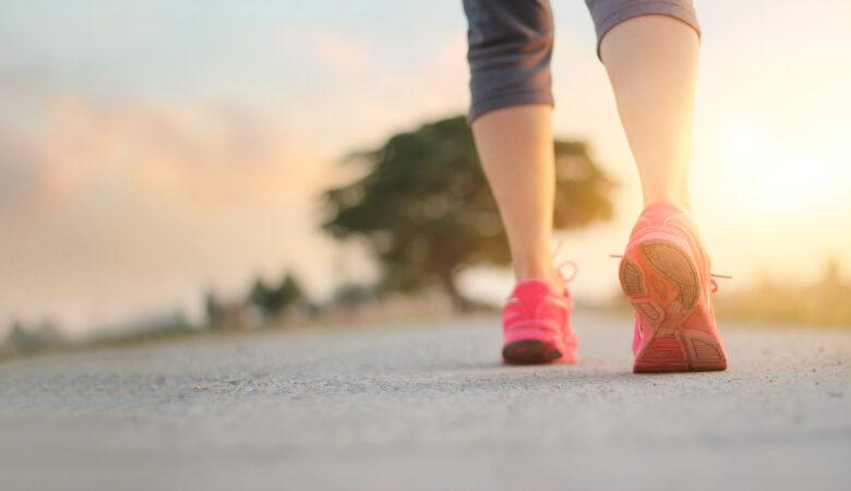 benefici camminata